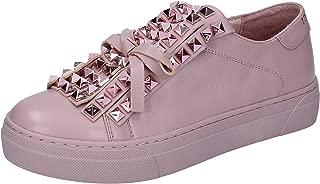 UMA PARKER Loafer Flats Womens Leather Pink