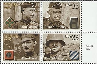 Distinguished Soldiers Complete Set John L. Hines Omar Bradley Alvin C. York Audie Murphy