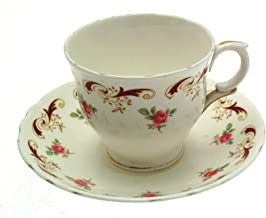 Wentworth Crown Staffordshire Teacup and Saucer