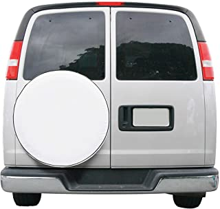 Classic Accessories 80-217-022301-00 Overdrive Universal Fit Spare Tire Cover, White, Small
