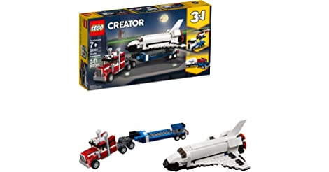 LEGO Creator 3in1 Shuttle Transporter Building Kit only $19.99