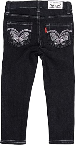 Levi's® Kids Sabina Butterfly Denim Legging (Toddler)