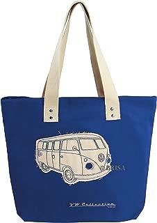 BRISA VW Collection VW T1 Bus Canvas Shopper Bag