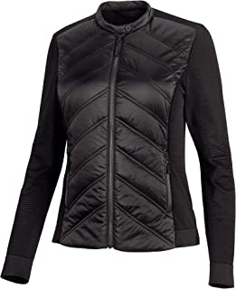 HARLEY-DAVIDSON Women's Quilted Stretch Nylon Jacket, Black