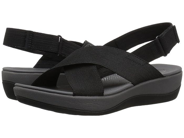 Clarks  Arla Kaydin (Black Elastic Fabric) Womens Shoes