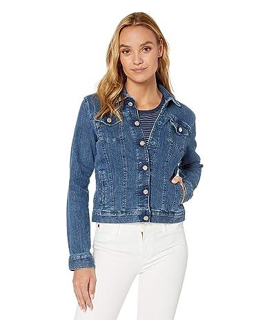 Tommy Hilfiger Adaptive Classic Denim Jacket (Medium Wash) Women