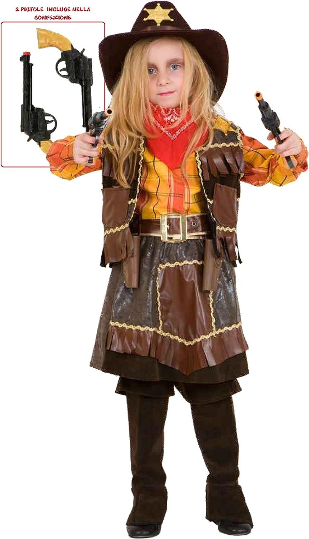 Commerciale Italiana Cowgirl Kostüm - 5 Jahre