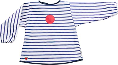 Baby-to-Love Smock, Full Body Long Sleeve Waterproof Bib, Boy & Girl 6-36mo