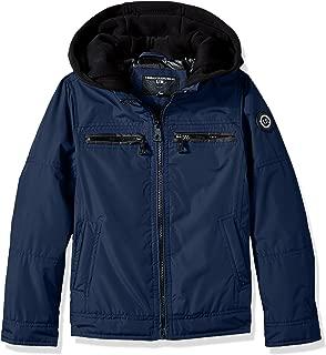 Urban Republic Boys' Ballistic Jacket Melange Sleeve