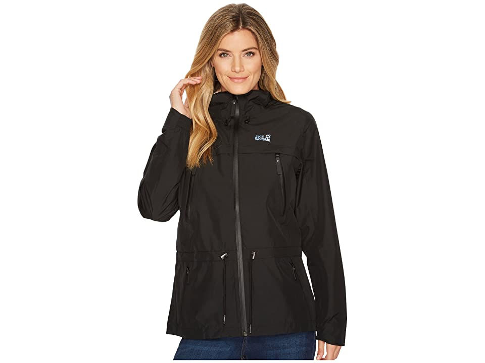 Jack Wolfskin Fairview Jacket (Black) Women