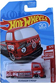 Hot Wheels Red Edition 5/12 Volkswagen T2 Pickup, red