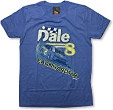 Checkered Flag Sports Dale Earnhardt Jr #8 Throwback Retro Adult T-Shirt