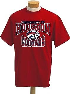 NCAA Houston Cougars Colossus Short Sleeved T-Shirt