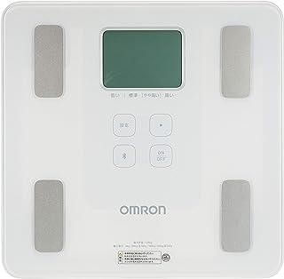 オムロン 体重・体組成計 カラダスキャン スマホアプリ/OMRON connect対応 シャイニーホワイト HBF-230T-SW