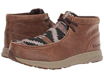 Ariat Spitfire (Wicker/Navy Aztec Print) Men