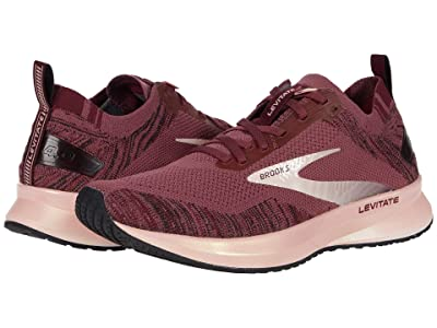 Brooks Levitate 4 (Nocturne/Coral/Zinfandel) Women