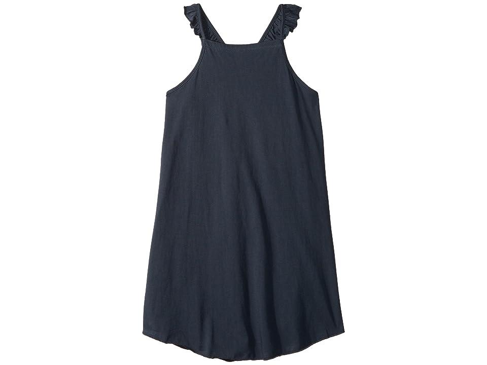 Chaser Kids Super Soft Ruffle V-Back Cami Shirttail Dress (Little Kids/Big Kids) (Shark) Girl