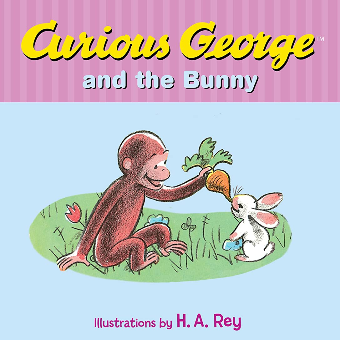 スカープ笑流出Curious George and the Bunny (English Edition)