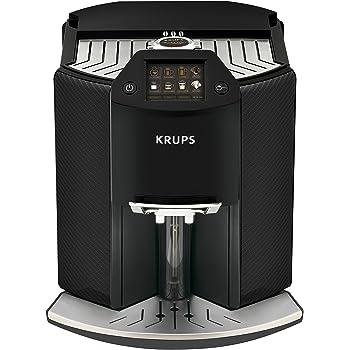 Krups – Cafetera automática Barista New Age de One Touch capuchino, coloreado, pantalla táctil, 1.6 L, carbon: Amazon.es: Hogar