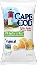 Cape Cod Potato Chips, Reduced Fat Original Kettle Cooked, 8 Ounce