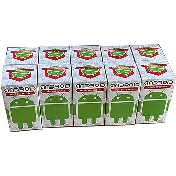【まとめ売り】日本限定パッケージ! Android [ドロイド君] ミニコレクティブル スタンダードエディション 10個セット