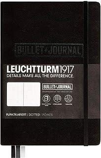 ロイヒトトゥルム ノート A5 ドット方眼 バレットジャーナル ブラック 346703 正規輸入品
