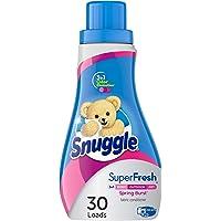 Deals on Snuggle Plus Super Fresh Liquid Fabric Softener 31.7Oz