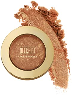 Milani Baked Bronzer - Dolce, Cruelty-Free Shimmer Bronzing Powder to Use For Contour Makeup, Highlighters Makeup, Bronzer...