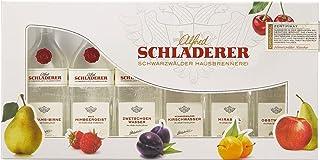 Schladerer Obstbrand Geschenk Probier-Set - edle Obstbrände aus dem Schwarzwald im Mini Tasting Set Mix mit 6 verschiedenen Obstbrand Klassikern - ideal zum Verschenken 6 x 0,03l