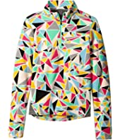 Hot Chillys Kids - La Montana Print Zip Top (Little Kid/Big Kid)