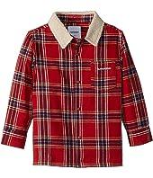 Lincoln Flannel Shirt w/ Sherpa Collar (Toddler/Little Kids/Big Kids)