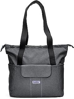 BABYBJORN SoFo尿布袋,灰色/淡紫色
