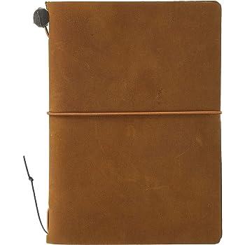 トラベラーズノート パスポートサイズ キャメル 15194006
