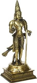 Kalakrithi Lord Murugan - Subramanya Statue - 15.2 Inches 3 Tone Colouring