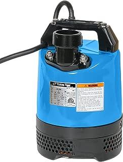 Tsurumi LB-480; Slimline Portable dewatering Pump, 2/3hp, 115V, 2