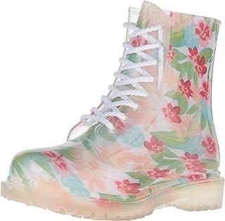 Dirty Laundry by Chinese Laundry Women's Roadie Hawaiian Rain Boot, White, 9 M US
