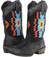Roper - Southwest Hand Beaded Snip Toe Boot
