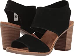 4ecd35866cb Toms majorca mule sandal black suede perforated