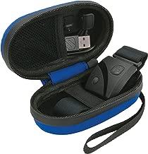 Scosche Rhythm Zipper Case | Hard Case for Rhythm+ and Rhythm 24 (Blue)