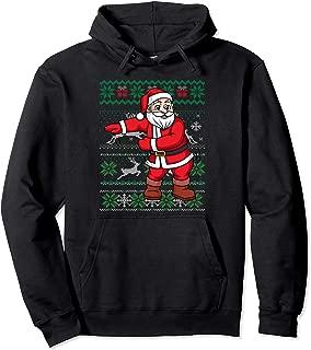 Floss Like A Boss Cute Flossing Santa Ugly Xmas Sweater Gift Pullover Hoodie