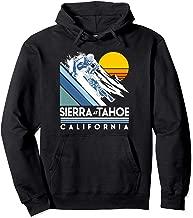 Sierra at Tahoe California Retro Ski Hoodie