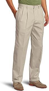 IZOD Men's American Chino Double Pleated Pant