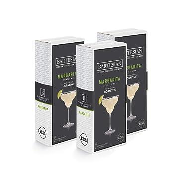 Bartesian Margarita Cocktail Mixer Capsules, Pack of 18 Cocktail Capsules, for Bartesian Premium Cocktail Maker (55402)