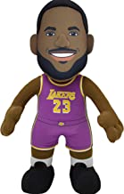 "Bleacher Creatures Los Angeles Lakers Lebron James 10"" Plush Figure- A Superstar for Play or Display"