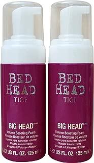 Bed Head Big Volume Boosting Foam, 4.22 fl oz (Pack of 2)