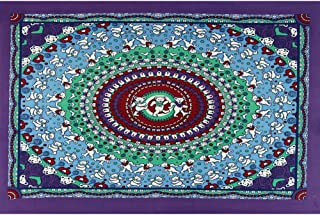 Sunshine Joy Grateful Dead Dancing Bear Tapestry Purple & Red 30x45 Inches