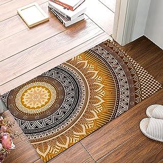 FAMILYDECOR Doormat for Entrance Way Indoor/Bathroom/Front Door Area Floor Mat Rugs Rubber Non Slip Absorb Kitchen Runner ...