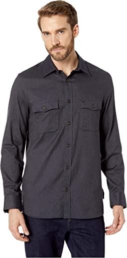 Long Sleeve Flannel Button Down