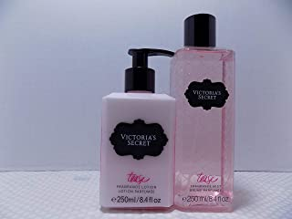 Victoria's Secret Tease Two Pc Set / 1- Scented Body Lotion 8.4 oz and 1- Scented Body Mist 8.4 oz