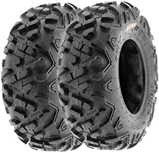 SunF 18×7-7 18x7x7 ATV UTV Tires 6 PR Tubeless A051 POWER II [Set of 2]